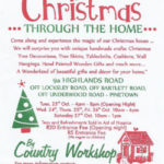 Christmas through the Home