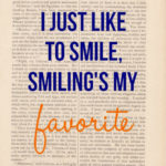 Things that make me smile…