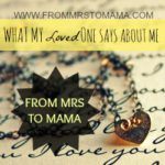 Remarks on what my loved ones said about me…