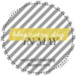 Blog every day in May…