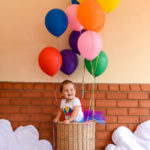 1st birthday – Hot Air Balloon