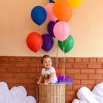 1st birthday – Hot Air Balloon