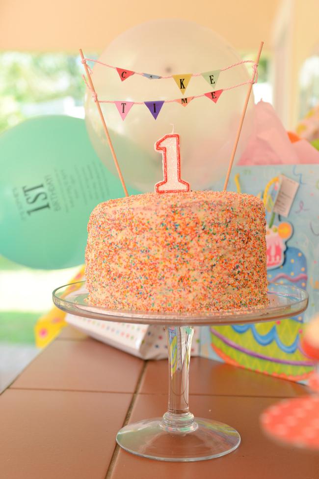 1st birthday – Food