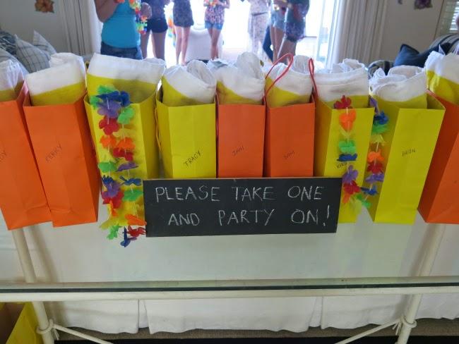 Bachelorette Weekend: Hula Party