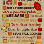 Blogtober14: Your Fall Bucket List