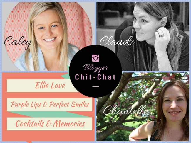 Blogger Chit Chat: Week Three