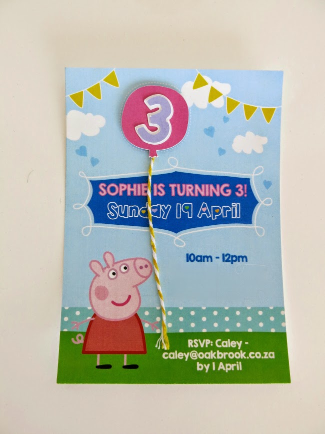 SJ 3rd Birthday – Invitation