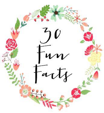30 Fun Facts