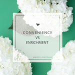 Convenience vs Enrichment
