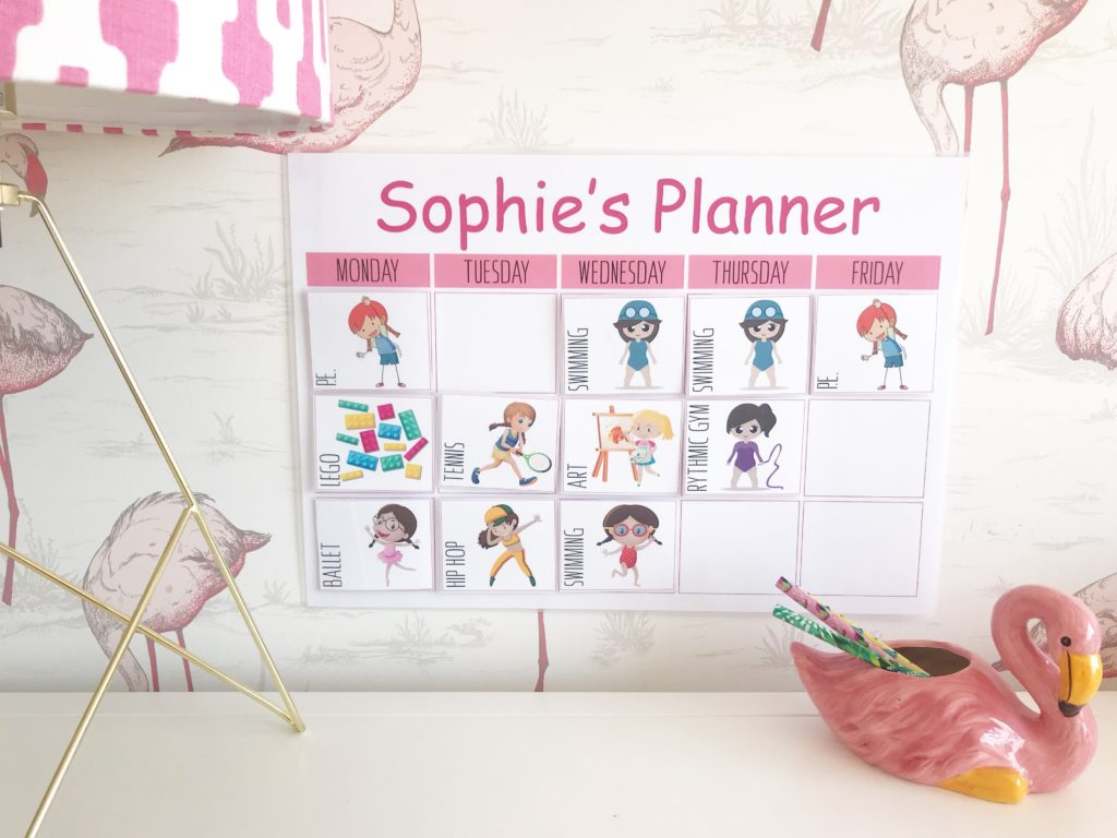Keeping Kids Organized