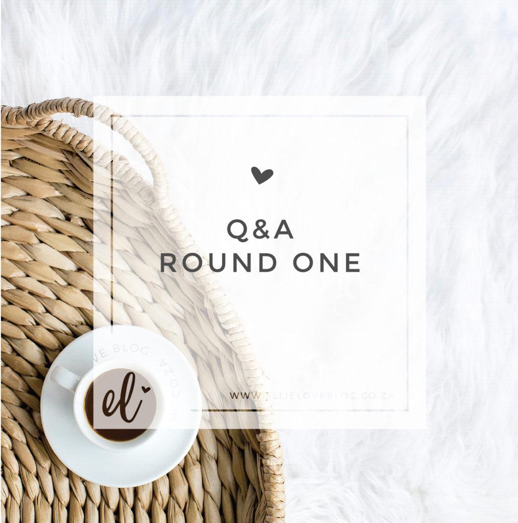 Q&A: Part One