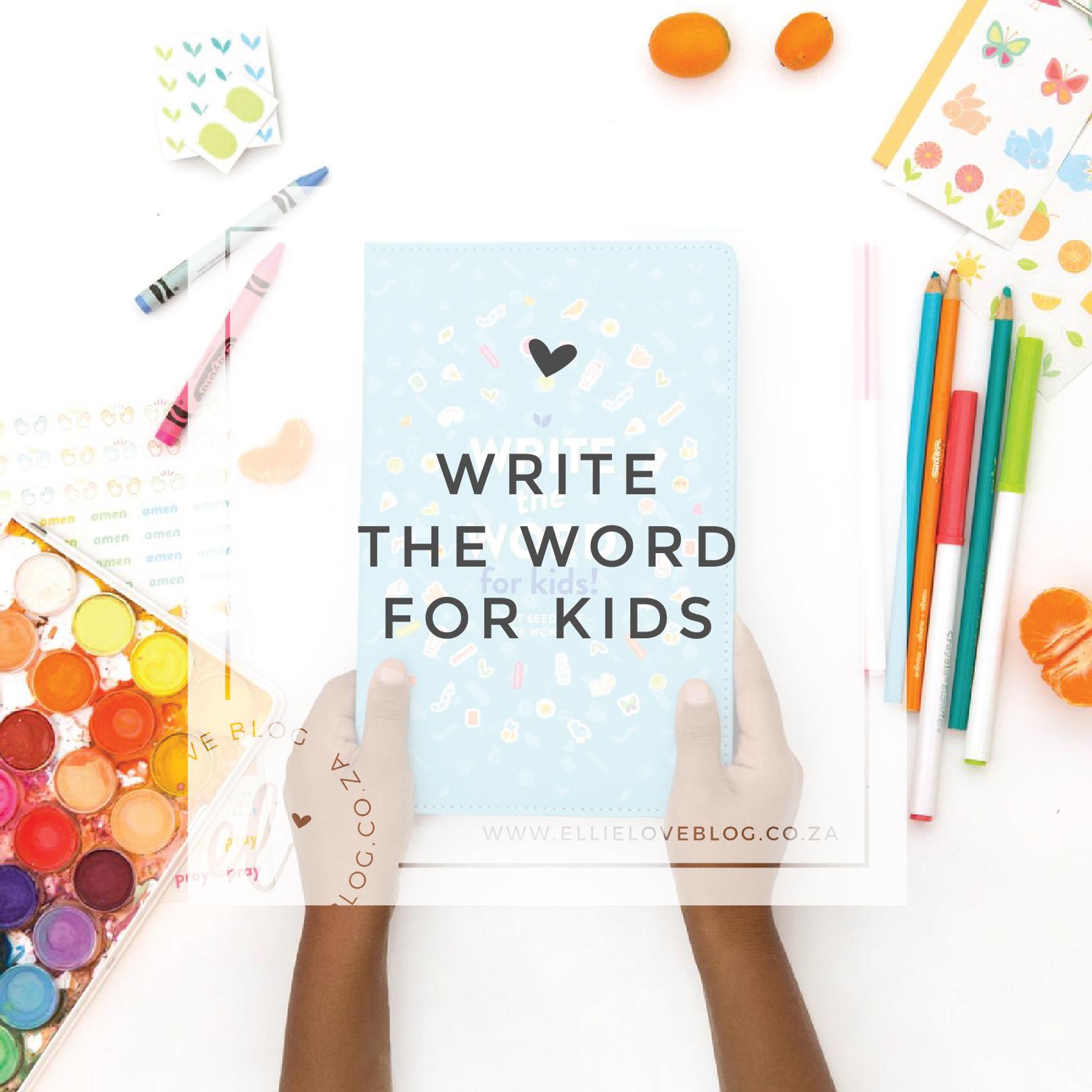 Write the Word Fun