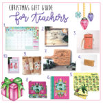 Christmas: Gift List for Teachers
