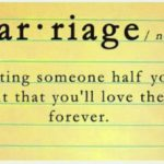 Week 17: The meaning of marriage