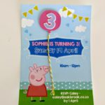 SJ 3rd Birthday – Invitation