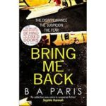 Book Review: Bring Me Back